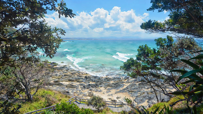 Coastal town Byron Bay, located in New South Wales, is a popular holiday destination. Home to a population of just 34,500, its median house price has increased to $987,500.
