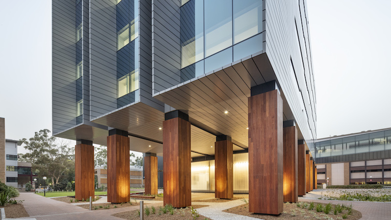 ▲ The University of Wollongong recently completed construction of the $80m world leading science research facility.