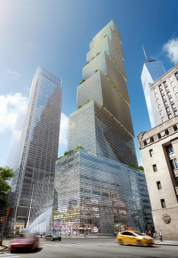 BIG's Two World Trade Center design to complete the World Trade Center.