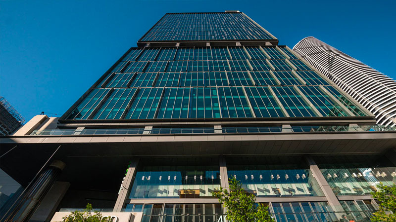 ▲ In August ASX-listed real estate investor and manager Cromwell Property Group purchased 400 George Street, an A-grade Brisbane tower.