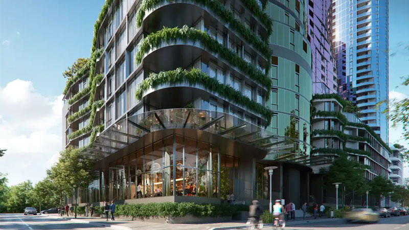 Greystar's build-to-rent project at Gladstone Street in South Melbourne. Image: Supplied