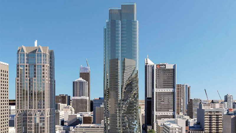 Melbourne major development projects - 435 Bourke Street by Cbus property