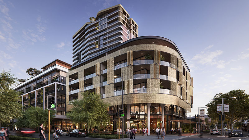 Plans for the development, known as One Subiaco.