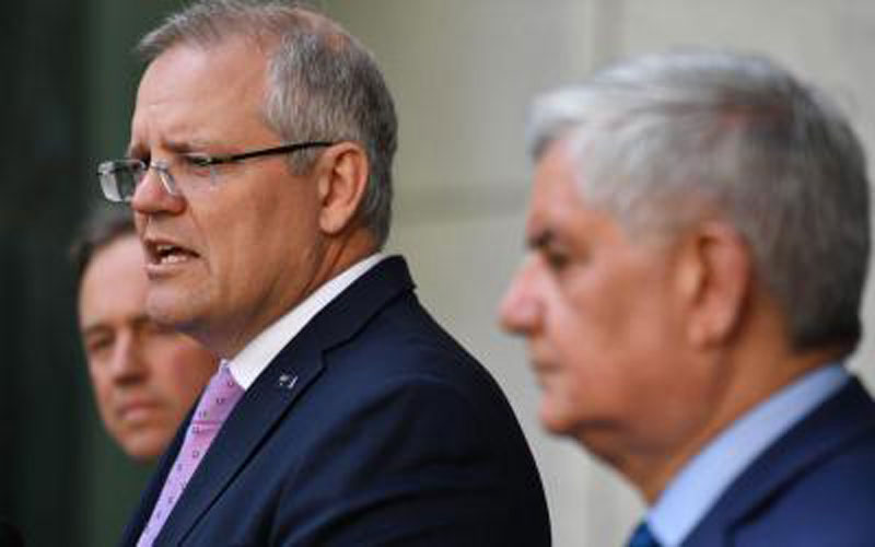 Prime Minister Scott Morrison, Health Minister Greg Hunt and Aged Care Minister Ken Wyatt announced the Royal Commission on Sunday.