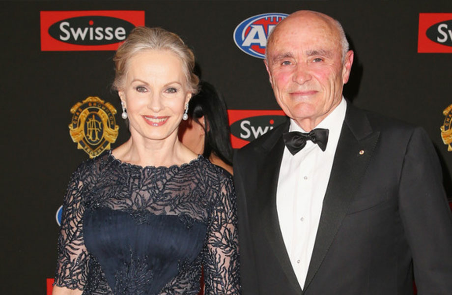 ▲ Paul Little and Jane Hansen donated $30 million to the University of Melbourne for the Project and scholarship program to support financially disadvantaged students complete undergraduate studies.