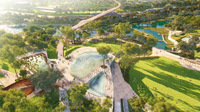 Victoria Park masterplan Brisbane