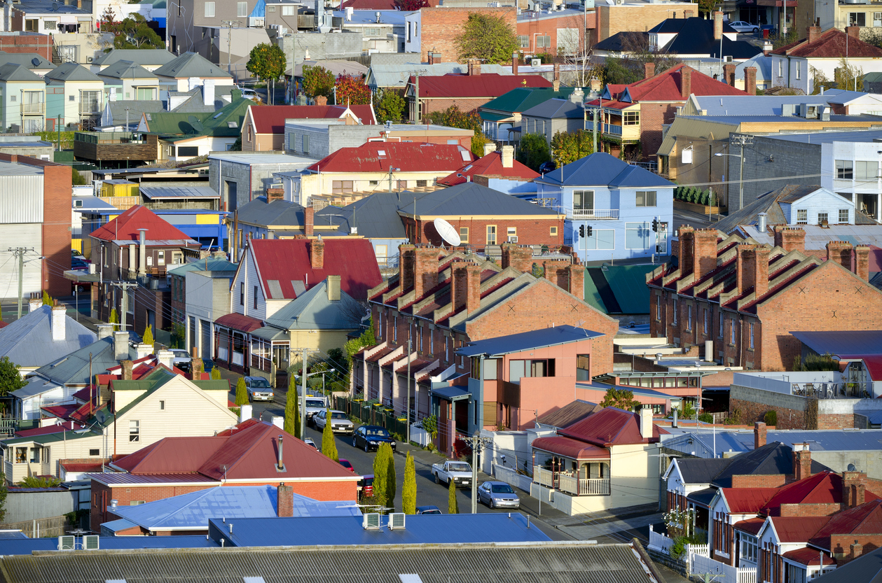 Hobart's property listings fell 4.7 per cent in May highlighting the Tassie capital's ongoing shortage of properties for sale.