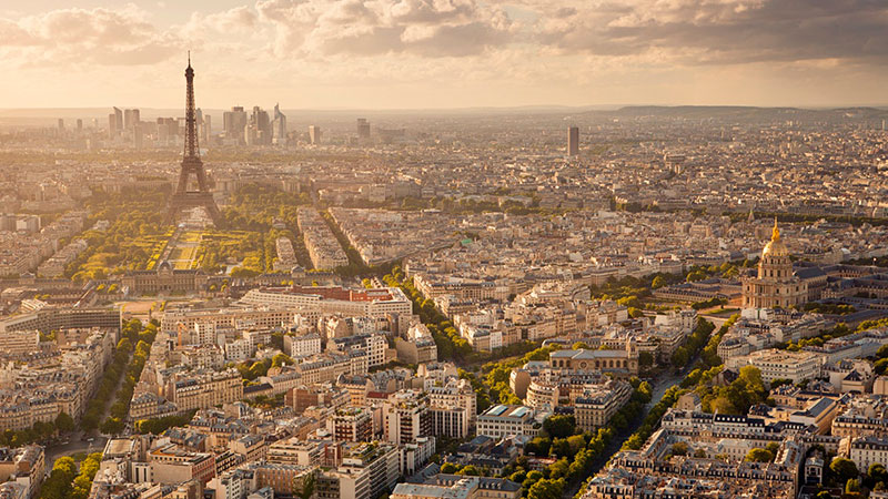 Paris is the top city in the world for cross-border real estate investment this year, seeing more than $6.5 billion in investment in the six months to June.
