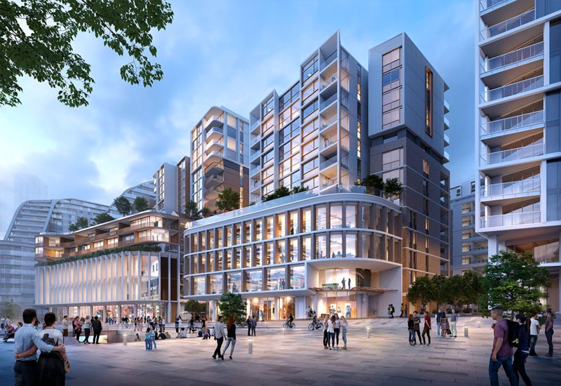 Green Square Mastrerplan Sydney Development Project