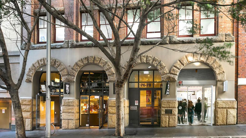 ▲ The six-storey building was completed in 1906 and used as warehousing facility for businesses associated with nearby Darling Harbour Goods Yard and Wharves.