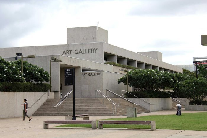 Robin Gibson transformed South Bank into a bustling cultural hub. Pictured: The Queensland Art Gallery.
