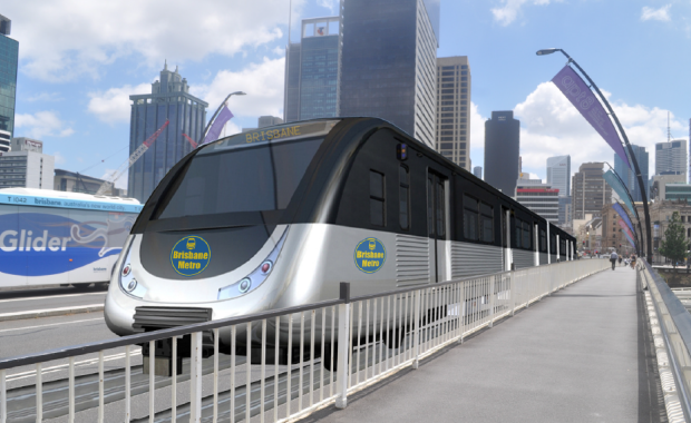 Visualisation of the new World City Major Project - Brisbane Metro