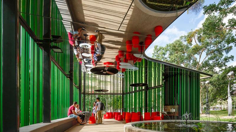 James Cook University, Verandah Walk   Wilson Architects (QLD)
