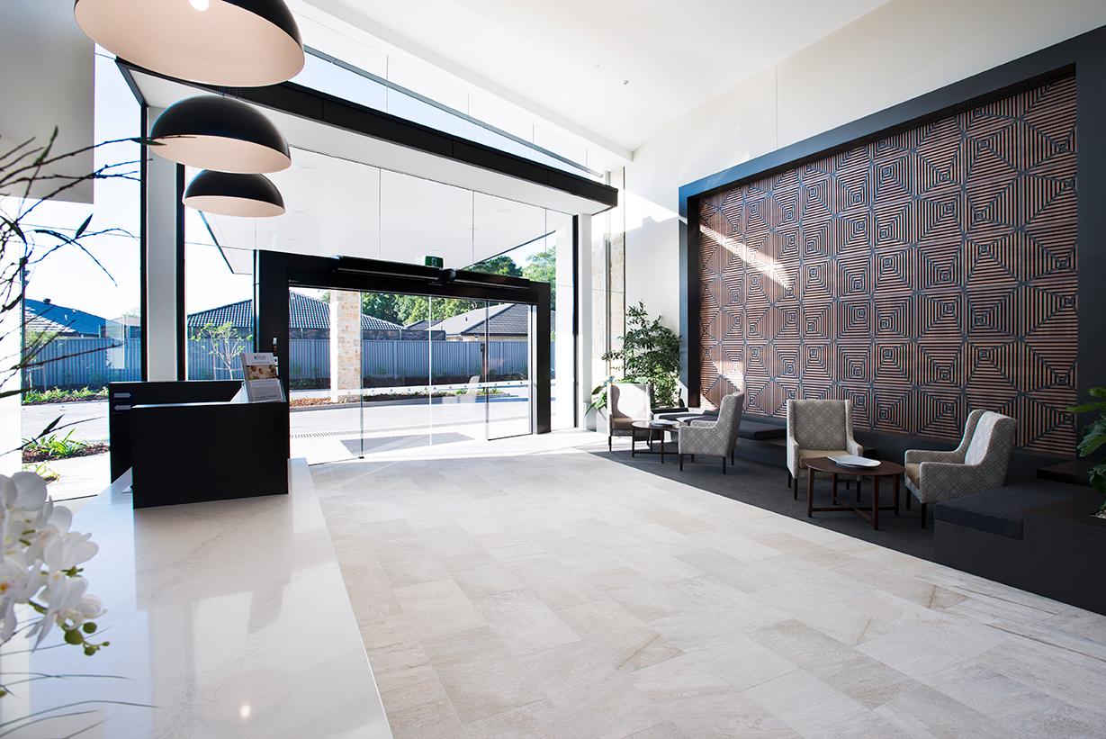 Tricare Sunnybank, Brisbane, entry foyer.