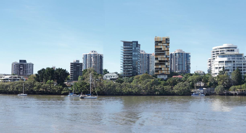 Walan riverside development