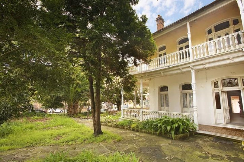 Petersham property, under refurbishment is almost 100 years old.
