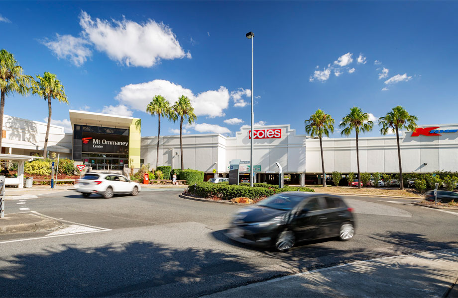 ▲ Vicinity achieved a 3.3pc premium on the book value of a 25pc stake in the Mt Ommaney centre.