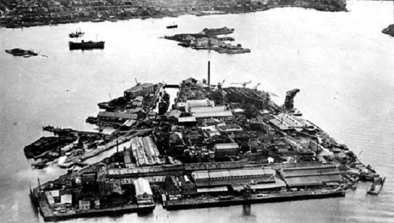 Cockatoo Island in 1927