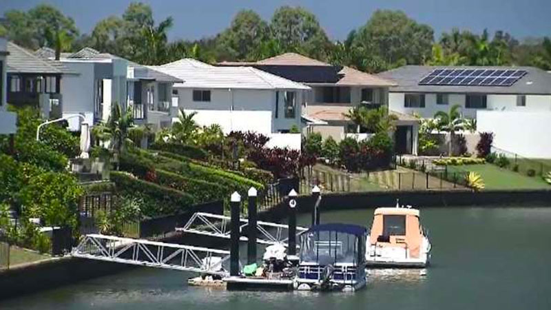 ▲ Fairway Island in Hope Island Resort is the first place in Queensland to have an Airbnb ban upheld in court. The resort is governed by different legislation to the majority of strata communities in Queensland.