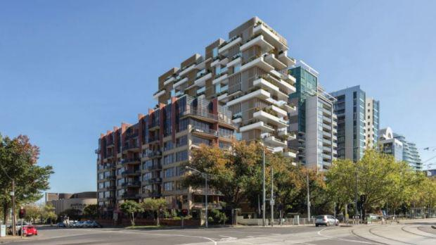 A render of Lian Beng Group's plans for 596 St Kilda Road