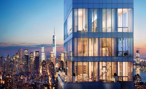 Rupert murdoch 39 s penthouse on sale for 92 million for New york penthouses for sale