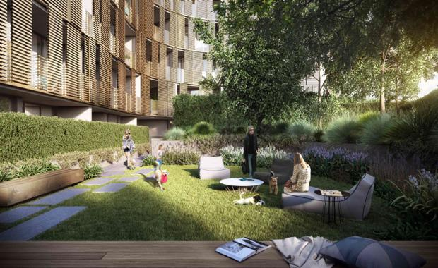 Australia 39 s first high rise dog park for Landscape design jobs adelaide