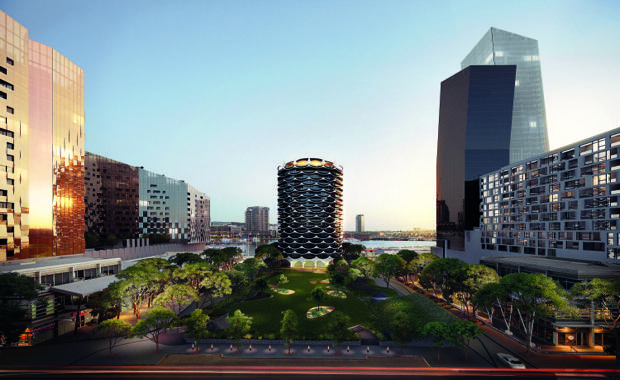 150826-MABC8675_Banksia_E04-Exterior-Montage-Hero-from-Docklands-Drive_E04_A1cmyk_620x380
