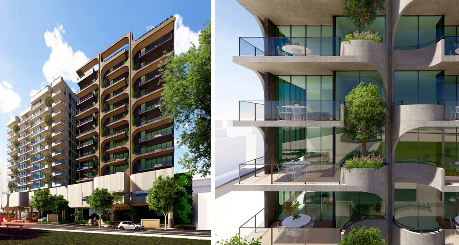 Architecture firm Rothelowman will lead the design of the two 12-storey towers.