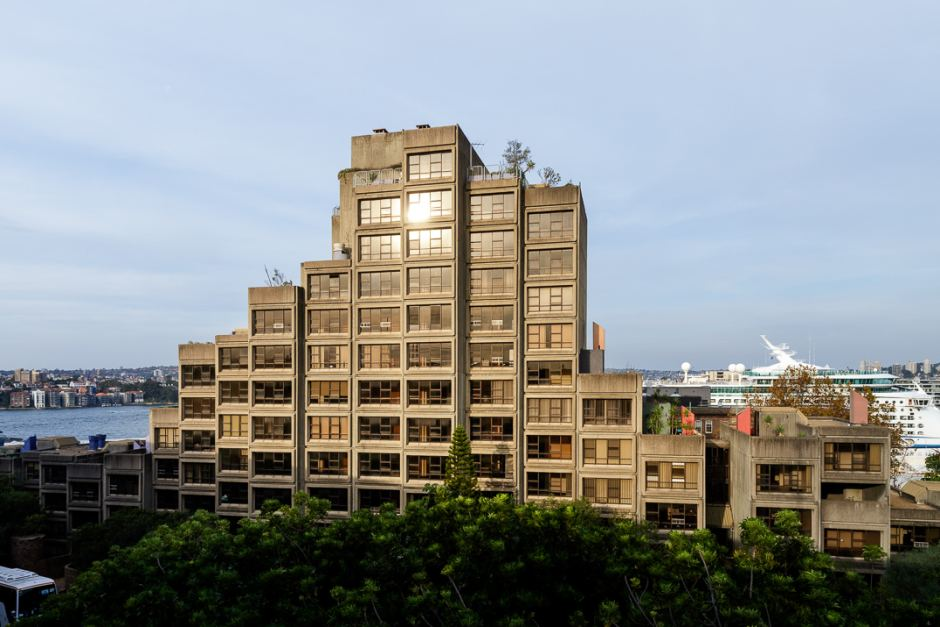 The Brutalist icon, completed in 1980, houses 79-units across 11-storeys.