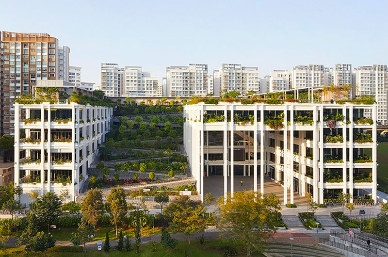 Oasis Terraces | Serie + Multiply Architects (Singapore)
