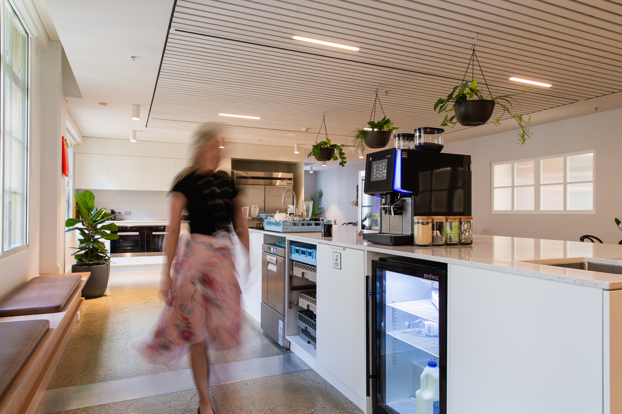 Hub Anzac Square members kitchen