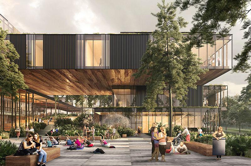 Future Project Civic: HCMA Architecture + Design - Harry Jerome Community Recreation Centre, Vancouver, Canada