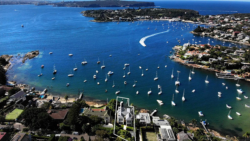 ▲ The 21 Coolong Road Vaucluse property is on the market for $55 million. Image: Christie's International Realty