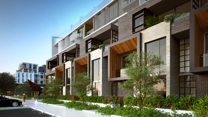 ▲ Construction of the residential apartments will start in mid-2021. Image: Doig Architecture