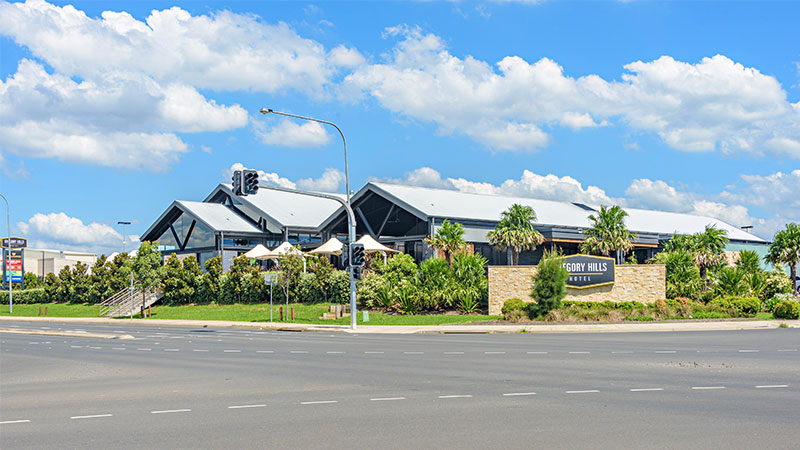 ▲ Sydney's Gregory Hills Hotel, along with Brisbane's Acacia Ridge Hotel. will be sold on lease back arrangements to listed property trust Hotel Property Investments.