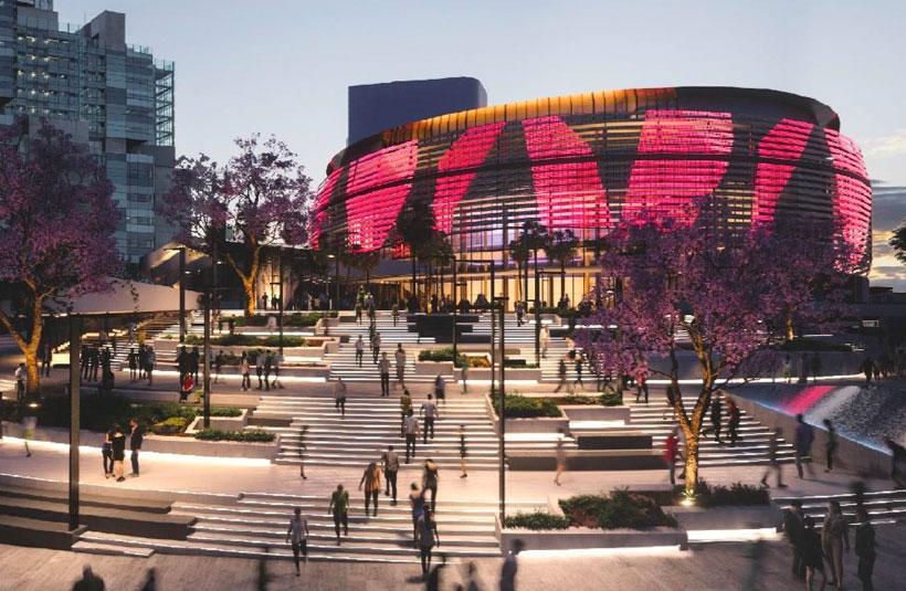 Brisbane Live Stadium development project