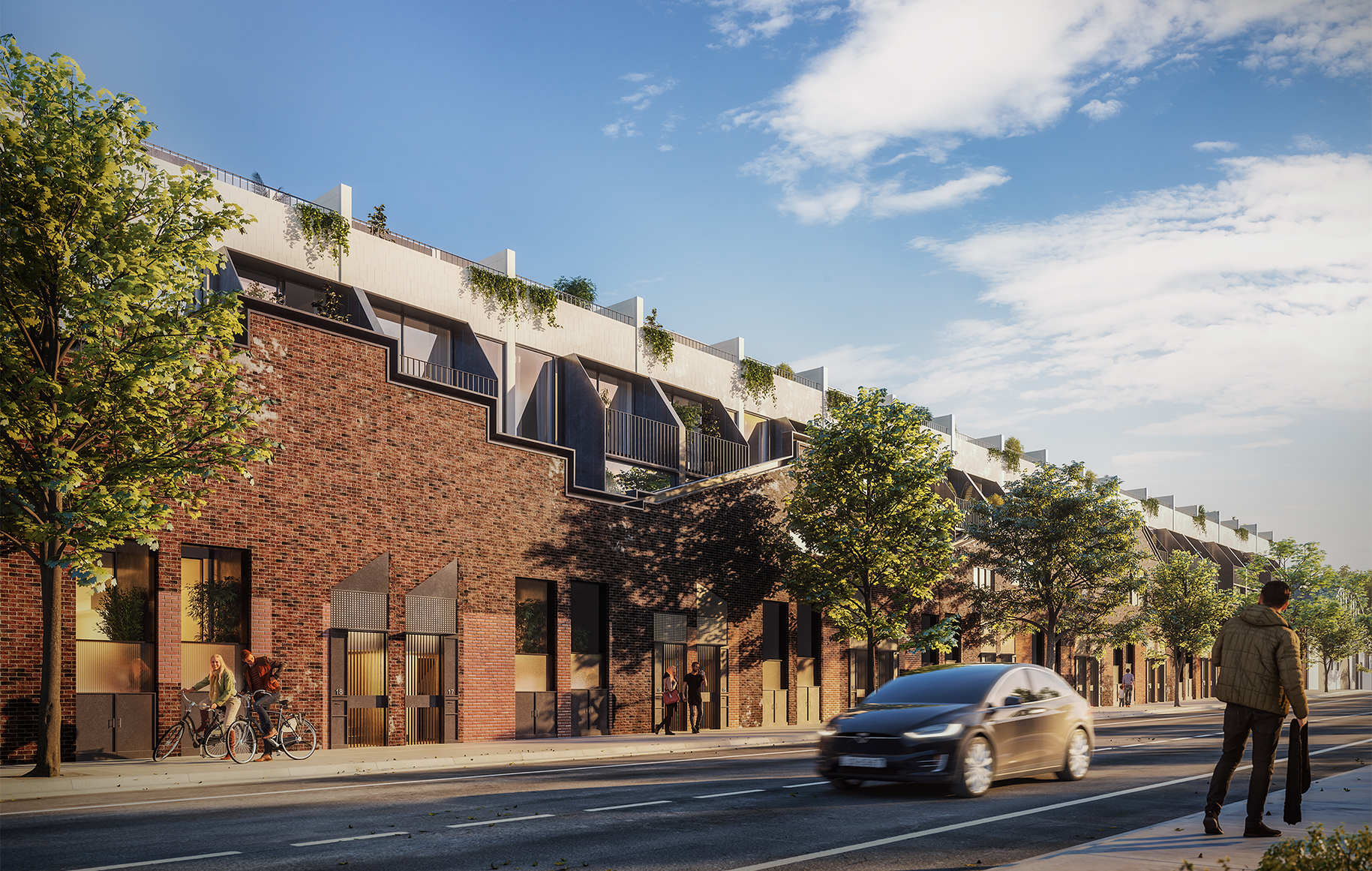 Milligan Group have also prepared a development application for Thirdi Group, who are converting an ex-industrial warehouse into 37 apartments at 29-41 William Street, Alexandria.
