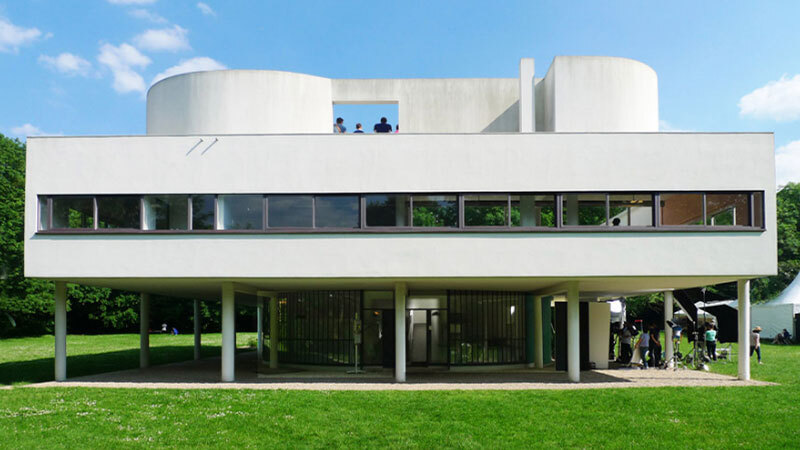 Le Corbusier's Villa Savoye, an example of the light-filled, streamlined qualities of modernist architecture, the design principles of which emerged  from the lessons of the Spanish flu and earlier pandemics.