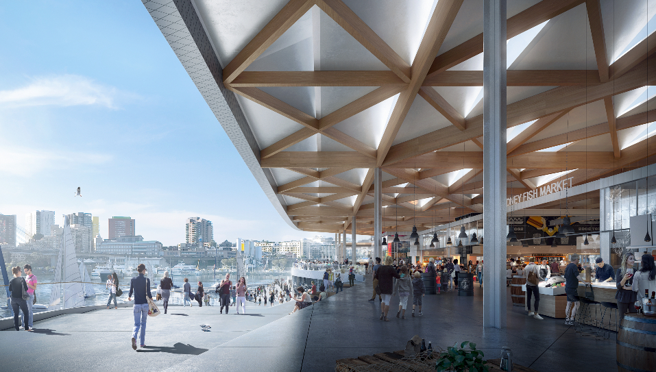 The new Sydney Fish Market will open in 2023.