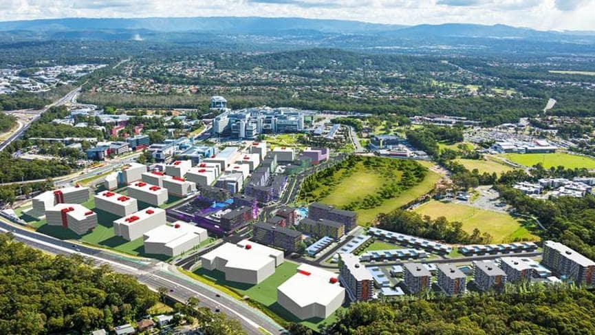 QLD gov Lists 9.5ha Development Site