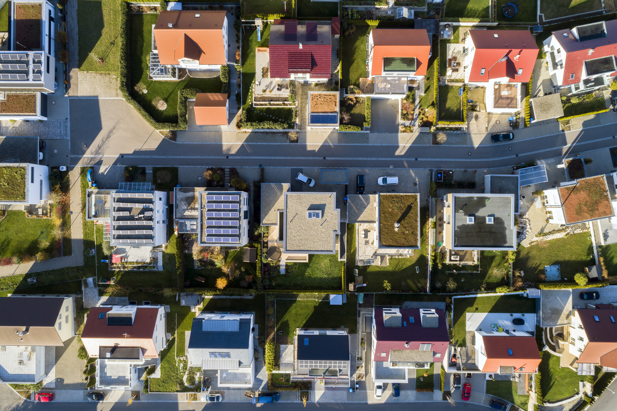 The biggest challenge in delivering these outcomes in our industry is therefore in the residential property sector – particularly for individual houses.