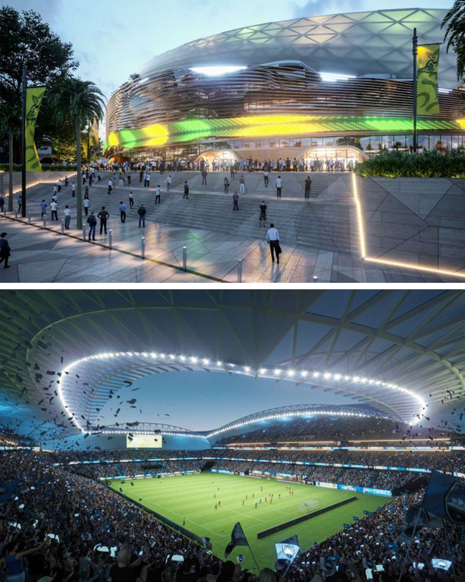 New Sydney Football Stadium artist impressions revealed