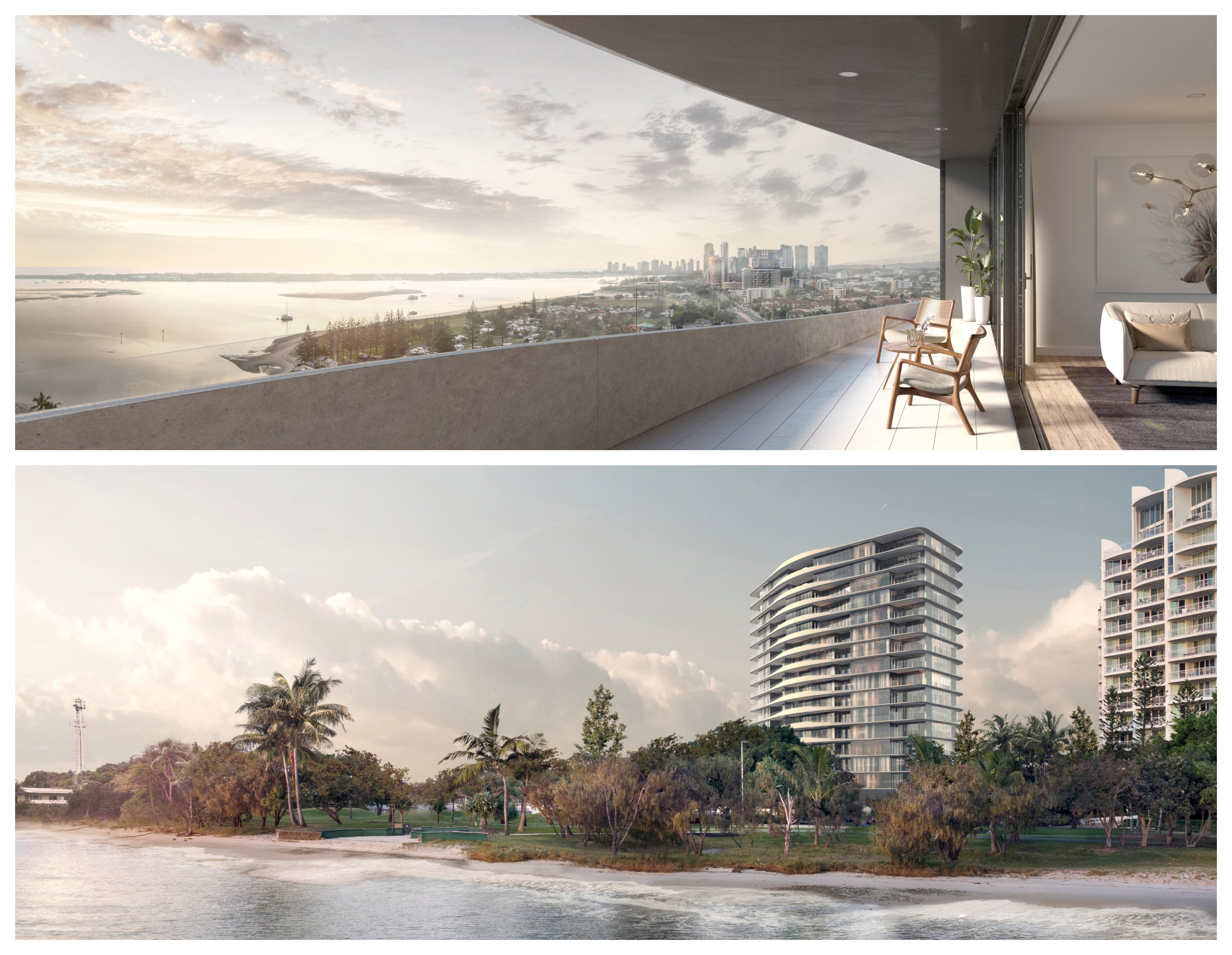 Developer Sunland reveals its new plans for 180 Marine Parade Labrador.