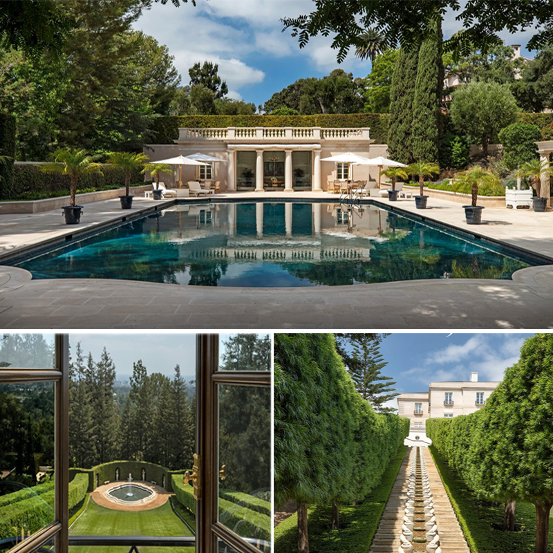 """The grand Bel-Air estate, named """"Chartwell"""", has hit the market with a $US245 million listing price."""