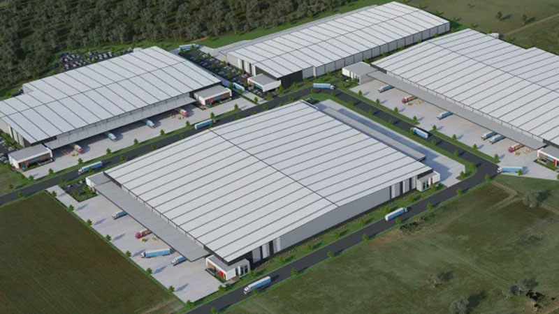 ▲ A potential development at Horsley Park, to be known as ESR Horsley Logistics Park.