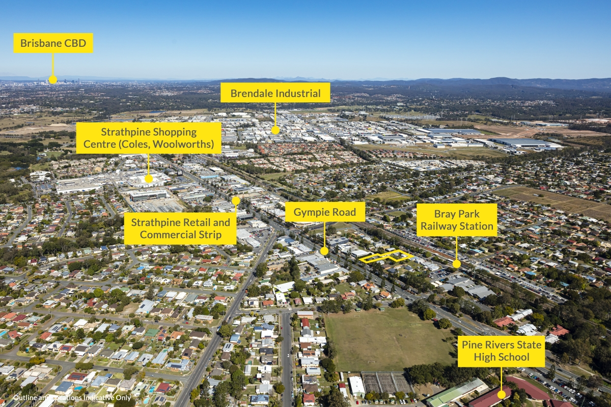 Expressions of interest are being sought for two land parcels available to purchase either separately or in-one-line at 25-29 Railway Avenue and 526 Gympie Road in Strathpine.
