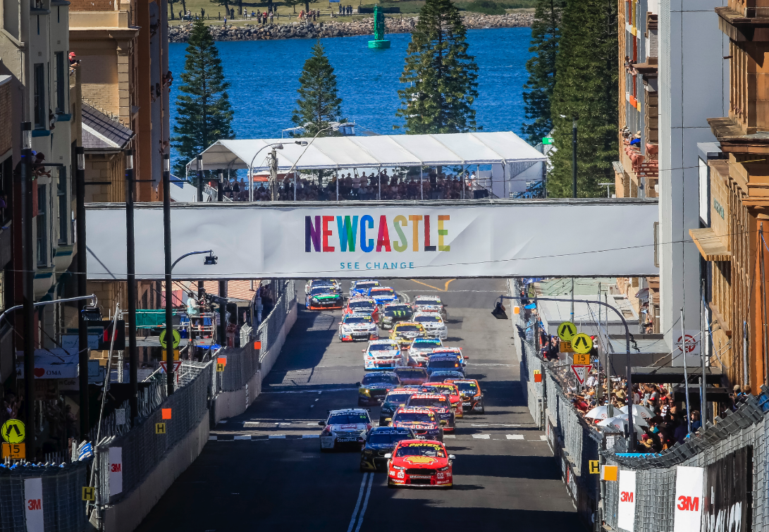 Newcastle replaced Sydney as the host of the V8 Supercars from 2017.