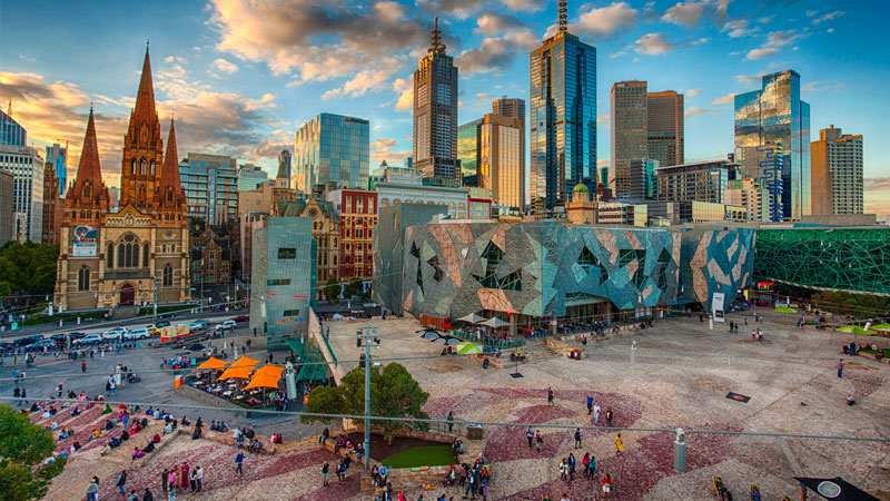 Our City, Our Square Melbourne