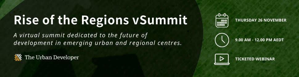 Rise of the Regions vSummit The Urban Developer