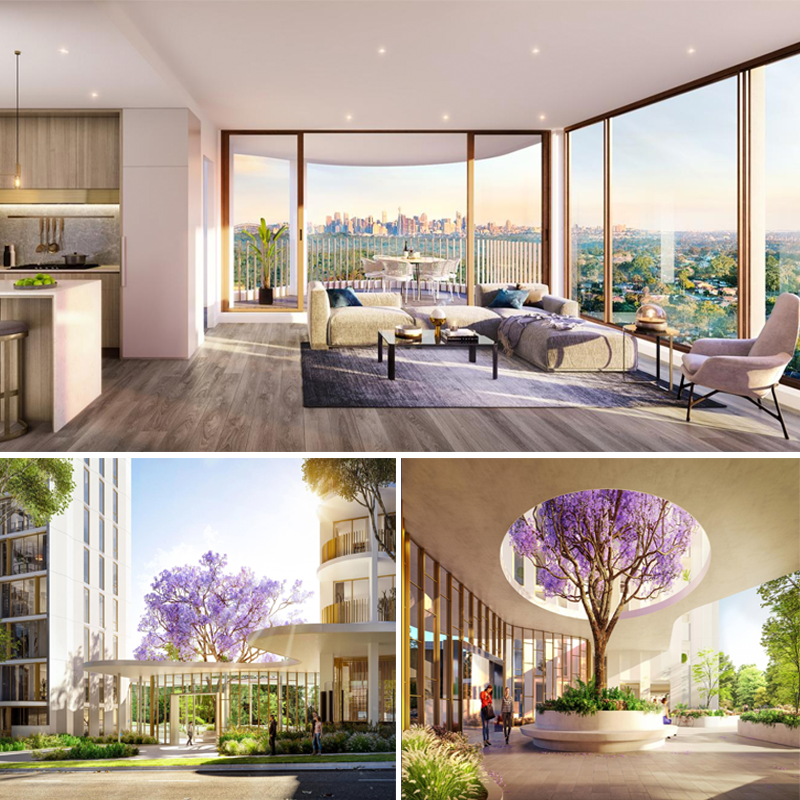 Melbourne-based developer Golden Age Group has secured construction finance for its 412-apartment Park One Macquarie Park project.